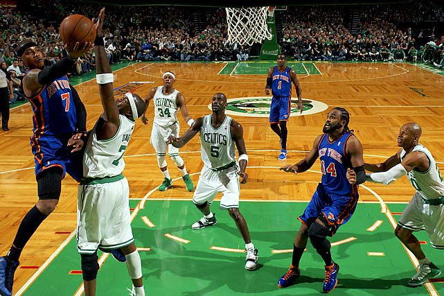 With the additions of Stoudemire and Anthony last season, the Knicks are showing that they want to compete with the top dogs in the Eastern Conference. And there's no better place to prove themselves than in front of a Christmas audience against a battle-tested Celtics team.