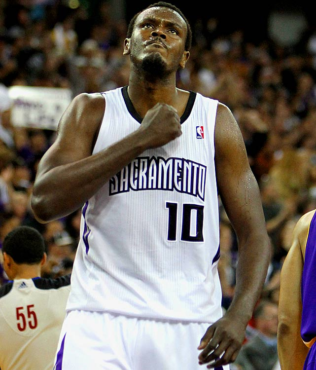 Age:  30    Position:  Center   2010-11 Team:  Kings    2010-11 Stats:  8.1 ppg, 47.3 FG%, 8.2 rpg, 1.5 bpg   Status:  Unrestricted