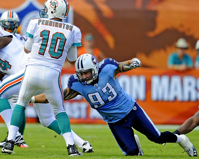 Before landing with the Titans last season, Babin spent his first seven years in the league with four different teams. He seems to have found a home at Tennessee, where he recorded 12.5 sacks at defensive end and made it to the Pro Bowl.