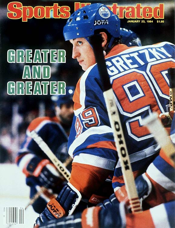 """The Great One's famous number is well known as a tribute to his idol, Gordie Howe. Unable to get Howe's 9 upon joining the Sault Ste. Marie Greyhounds of the OHL in 1975 (another player was wearing it), Gretzky agreed to coach Muzz McPherson's suggestion, """"If you can't wear one 9, wear two."""" The rest, as they say, is history."""
