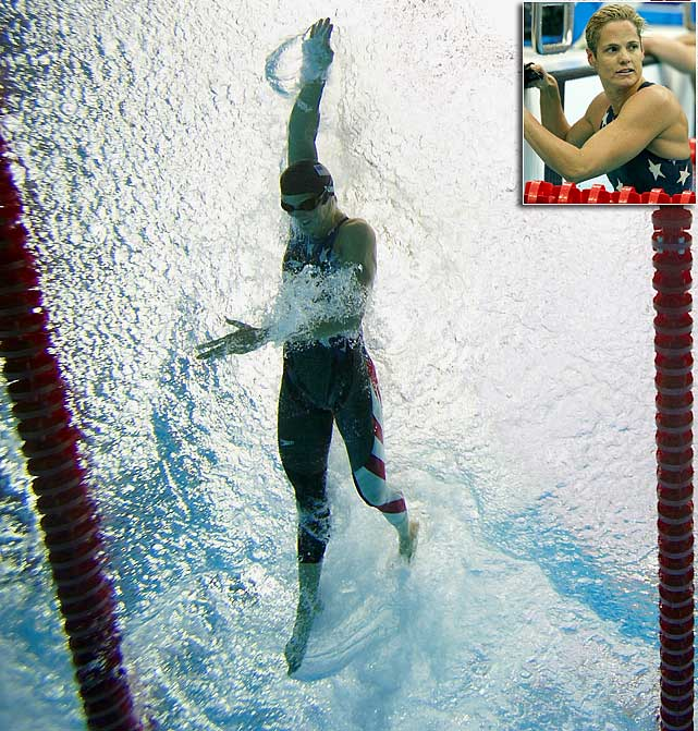 At age 44, Torres is already the oldest swimmer to the make the U.S. Olympic team and now she's trying to break her own record in London (that'll make six Olympic games). She'll look to add to her 12-medal collection, which includes four golds.