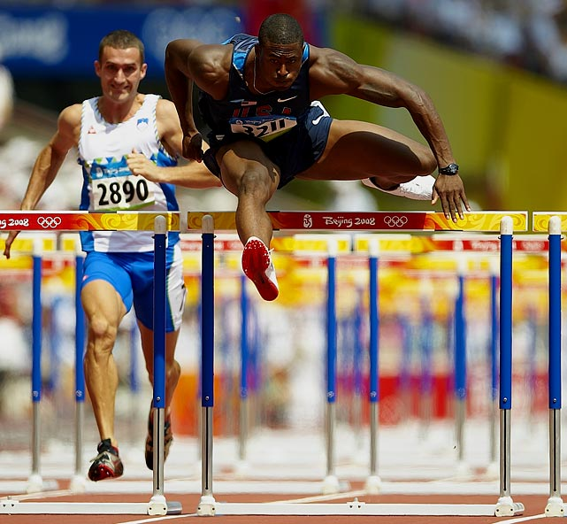 Oliver missed out on the silver in the 110-meter hurdles in Beijing by .01 seconds to fellow countryman David Payne. He did, however, grab the gold medal in September's IAAF Continental Cup with a time of 13.11.