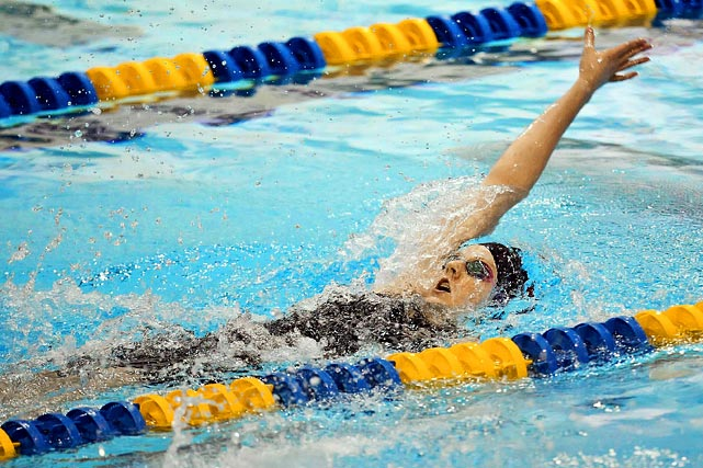The 16-year-old Franklin holds the American record in the 200-meter backstroke, and will be one of the young faces to watch on the United States team.