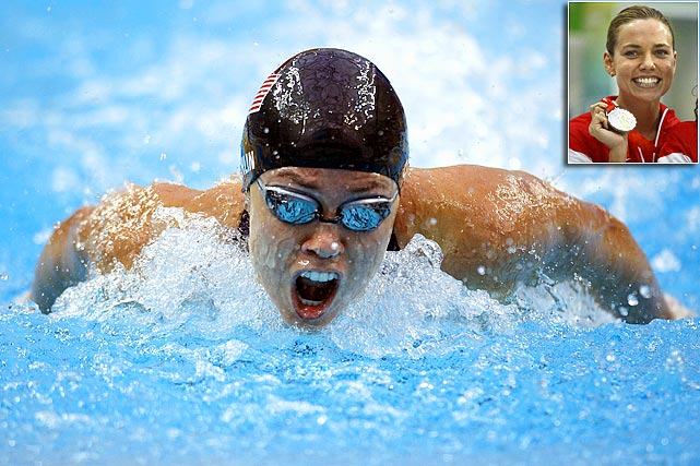 Coughlin is one of the most successful female swimmers in U.S. Olympic history, compiling 11 medals over her illustrious career. In 2008, she became the first American woman to win six medals in one Olympics. She also became the first woman to ever win gold in the 100m backstroke in consecutive Olympics. Coughlin will enter the 2012 Games against heavy competition to defend her backstroke crown.