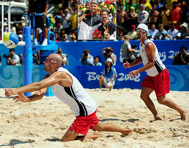 Dalhausser and Rogers have won five straight AVP Tour Championships and are the reigning gold medalists in beach volleyball.