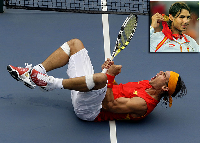 Nadal is the reigning Olympic champion in men's singles.  He, Roger Federer and Novak Djokovic have all had their fair share of success at Wimbledon (the site of the event) in the past, making the Olympic tournament a dynamite draw.