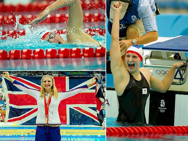 Few in London will have the crowd behind them like Adlington, Great Britain's first swimmer to win two gold medals since 1908. Since Beijing, Adlington has had her ups and downs, but as long as the pressure of being Britain's great swimming hope does not get to her, the older and more mature Adlington could surpass her totals from 2008.