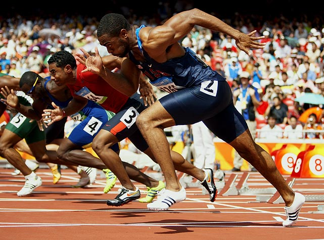 Gay is the fastest man in the United States, holding the U.S. record for the 100 meters. His fans argue that his 2010 victory against the world's fastest man Usain Bolt in Stockholm closes the gap between the two, but a hip injury prevented them from meeting again this year. We'll just have to wait until London.