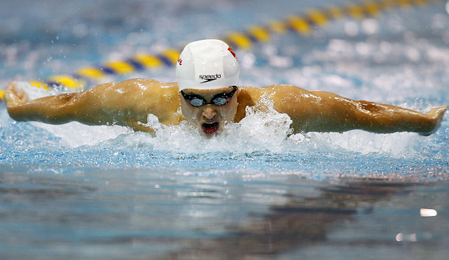 Wu finished fourth in the 200 fly at the 2008 Olympics, but defeated Phelps in the event twice in 2011, including Grand Prix meets in Charlotte and Michigan. Before Wu's victory, Phelps had not lost in the 200 fly in nine years.