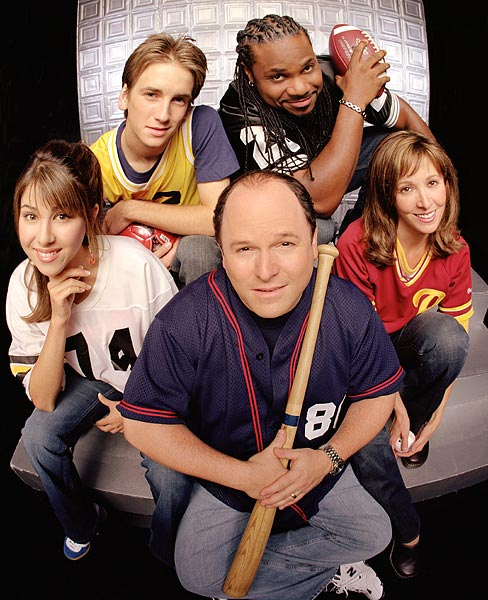 We already knew that George Costanza couldn't do anything right, and Listen Up! didn't help his reputation. The sitcom about a sports talk show host and his family, produced by and starring Jason Alexander, was cancelled in 2005 after one season of mediocrity. This following the cancellation of Alexander's first post-Seinfeld swing Bob Patterson.