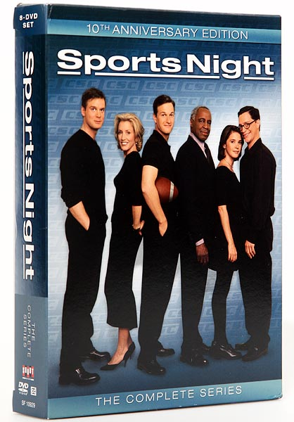 Sports Night has an impressive resume -- referrals:  hordes of raving critics looking for the next great sports show; accomplishments: 3 Emmys; written by West Wing creator Aaron Sorkin -- his breach into television. But performance-wise, the show barely survived two seasons (1998-2000). Only a cult following can redeem the series failure to the level envisioned by yeasayers.