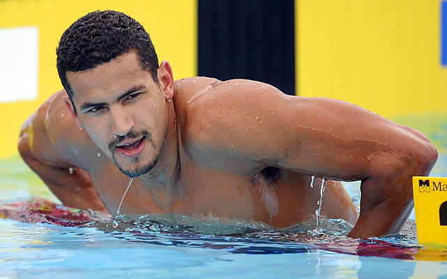 Ous Mellouli made big splashes by winning swimming's marathon event, the 1,500-meter freestyle, at the 2008 Olympics and 2009 world championships. But he diversified in this year's USA Swimming Grand Prix series. Mellouli won 12 total events over seven meets, second only to Michael Phelps. Potential Events 200 free 400 free 800 free 1,500 free