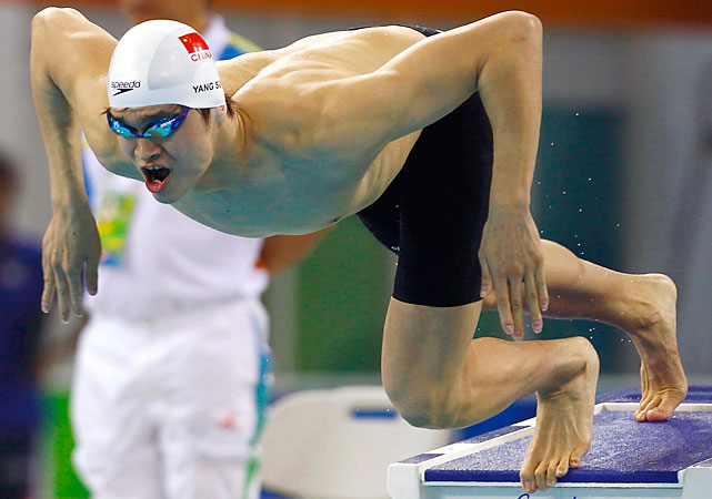 Sun, 19, is the latest from China to burst onto the swim scene. He's been arguably the best swimmer in the world this year -- owning the fastest times in every freestyle event from 200 meters to 1,500 meters. In Shanghai, Sun has a real chance at taking the oldest world record off the books, Grant Hackett's 14:34.56 in the 1,500 set in 2001. Potential Events 400 free 800 free 1,500 free 800 free relay
