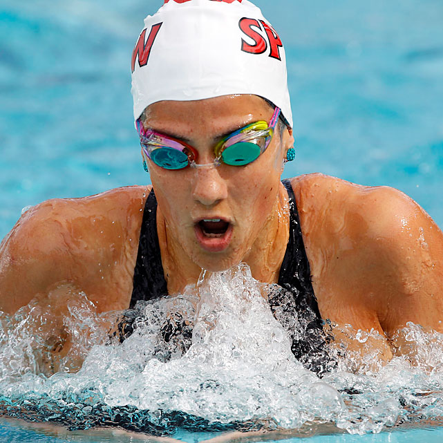 Australia's best all-around swimmer, Stephanie Rice, is racing in her first big meet since shoulder surgery last September. After winning three golds at the Beijing Olympics, Rice settled for silver and bronze at the 2009 world championships.  Potential Events 200 fly 200 IM 400 IM 800 free relay