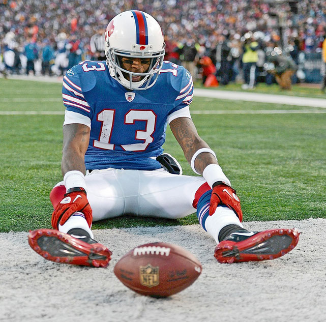 After dropping the winning touchdown pass in an eventual 19-16 overtime loss to the Steelers, the despondent Bills wide receiver seemed to blame God:   I PRAISE YOU 24/7!!!!!! AND THIS HOW YOU DO ME!!!!! YOU EXPECT ME TO LEARN FROM THIS??? HOW???!!! ILL NEVER FORGET THIS!! EVER!!! THX THO...   The emotionally raw tweet made Johnson a hot topic of discussion from  CNN.com's religion blog  to  The View .