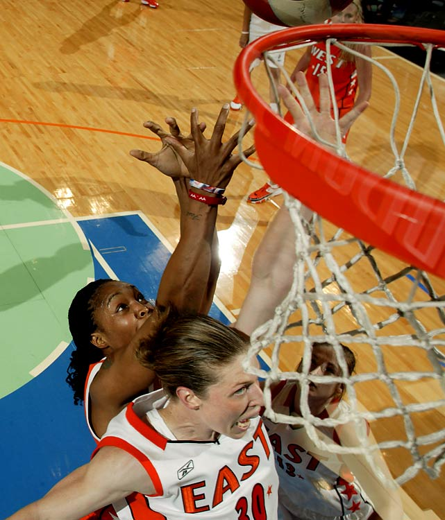 Currently with the Seattle Storm, the Ohio State alum's storied career includes seven All-Star game appearances, three Olympic gold medals, a WNBA Finals MVP and two WNBA Championships with the Detroit Shock.