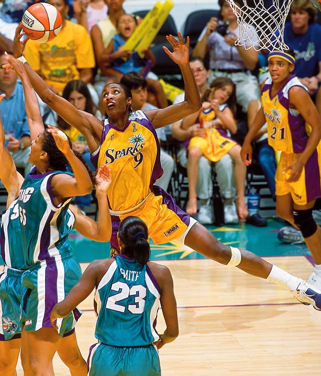 "An eight-time All-WNBA First Team selection, Leslie -- nicknamed ""Smooth"" -- played her entire career with the Los Angeles Sparks and retired in 2009 as the league's all-time leading scorer. The four-time Olympic gold medal winner led the Sparks to a pair of WNBA championships, earning three WNBA MVP awards along the way."