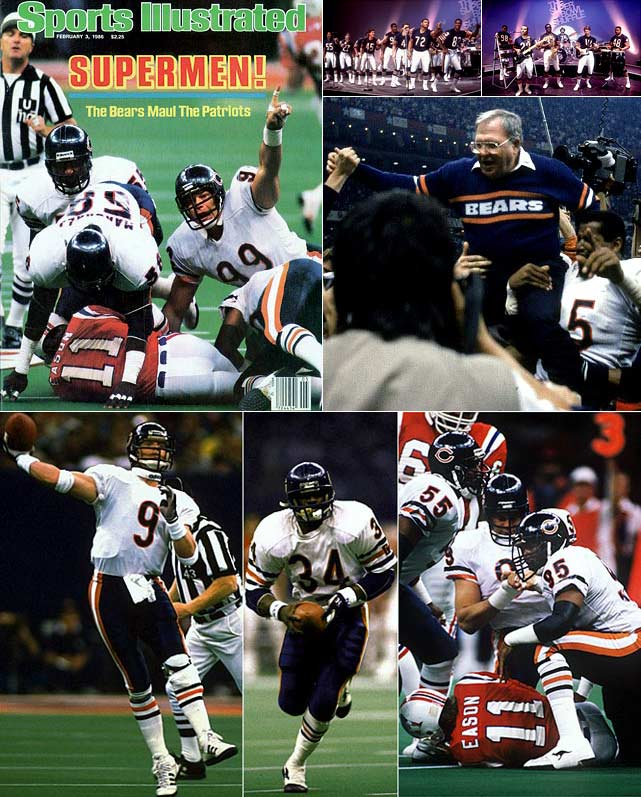 "SI.com looks back in chronological order at the seminal moments of 1986, a year filled with some of the most memorable performances, games and events in sports history as well as notorious scandals and unspeakable tragedies.    In one of the most dominant performances in championship game history, the Bears demolished New England 46-10 in Super Bowl XX on Jan. 26. The lopsided victory punctuated a 18-1 season that was defined by Buddy Ryan's suffocating ""46"" defense, brash quarterback Jim McMahon, cult-hero lineman William ""The Refrigerator"" Perry, smooth running back Walter Payton and, of course, the team's Super Bowl Shuffle."