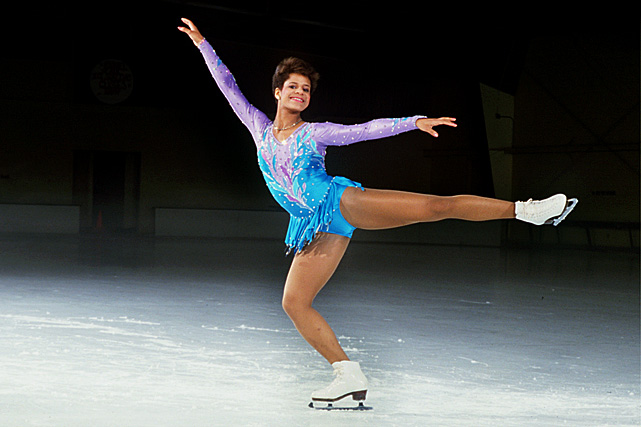No African-American figure skater had ever won a U.S. title or world championship until 18-year-old Stanford freshman Debi Thomas accomplished both in 1986.