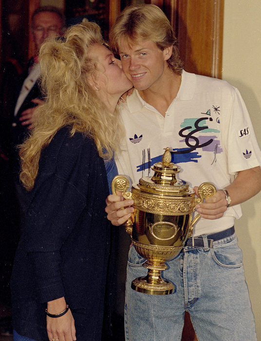 Stefan Edberg, who was always popular among female tennis fans, married Annette Olson in 1992. The couple have two children.