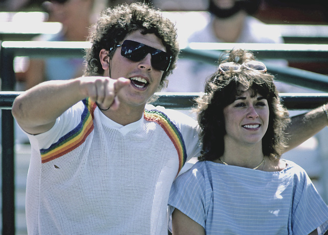 Just weeks after finishing a record-setting season in which he threw for  5,084 passing yards and 48 touchdowns, Marino married longtime girlfriend Clare. The couple has six children.