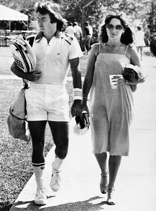 After dating fellow tennis star Chris Evert for much of the '70s, Connors found true love when he met former Playboy model Patti McGuire. They married in 1979 and have two children.