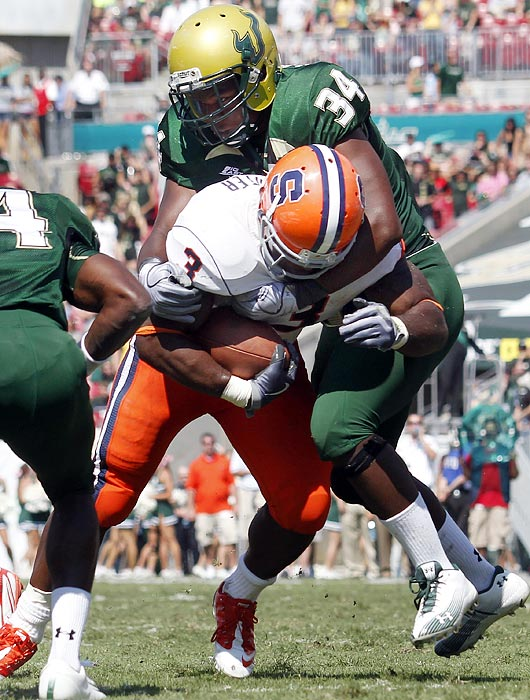 As a redshirt freshman, Lattimore made 12 starts and finished with 69 tackles, six-and-a-half for loss and two-and-a-half sacks. The 6-2, 237-pounder should only become more of a force in his second season.