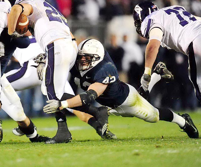 The Nittany Lions' top linebacker will move from the outside to the middle, giving the quick, athletic Mauti a chance to shine even brighter.