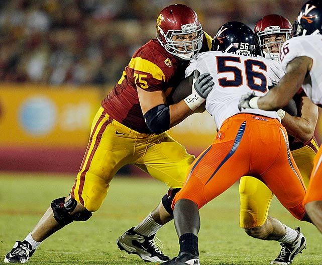 The redshirt junior is the only Trojans o-line starter returning to the position he played last year and will serve as a coach in the trenches.