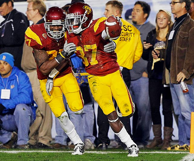 Trojans coaches simply could not keep the 5-8 freshman off the field last season. He started 13 games, making 48 tackles and a team-high four picks.