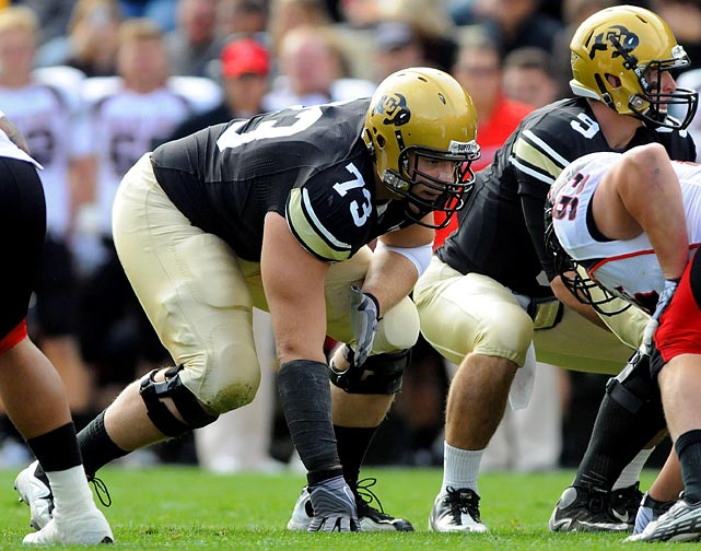 The gargantuan (6-8, 312 pounds) run blocker finished 2010 with 80 knockdown blocks while giving up just two sacks.