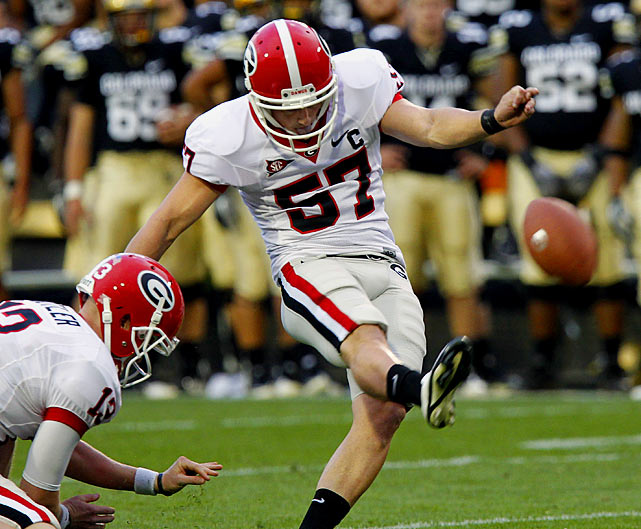Superbly accurate, Walsh connected on 20 of 23 field goal attempts and 46 of 47 extra-point tries in 2010. That's 106 points -- exactly how many he needs to tie the SEC's all-time career scoring mark of 409.