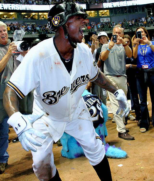 "After wearing out his welcome in Washington, Brewers outfielder Nyjer Morgan found a place that accepted the oddness that accompanies the man who nicknamed himself ""Tony Plush."" Milwaukee's reward for dealing with the absurdity? A series-winning RBI single in the 10th inning of a 3-2 victory over Arizona. ""Everything that I've had to overcome, just the stuff that people go out there and perceive about me, just all my haters, I just wanted to show them that I can play this game, even though I have a fun, bubbly personality,"" said Morgan, who has nearly 60,000 Twitter followers. ""I still come to win."""