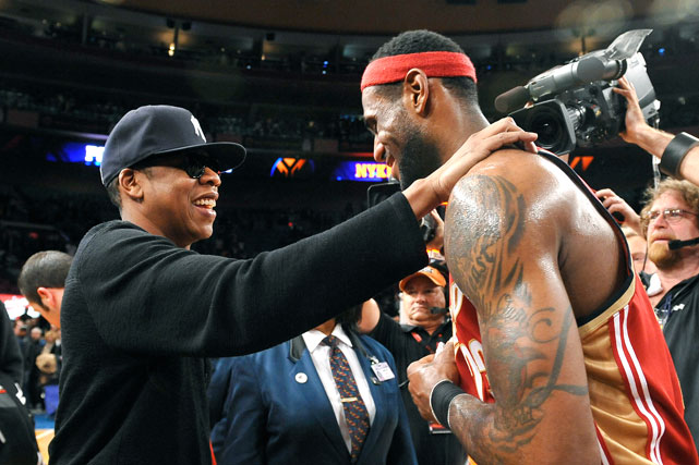 The friendship between Jay-Z and LeBron James is well known at this point, especially after the Nets co-owner tried (to no avail) to lure the top free agent in 2010 to New Jersey.