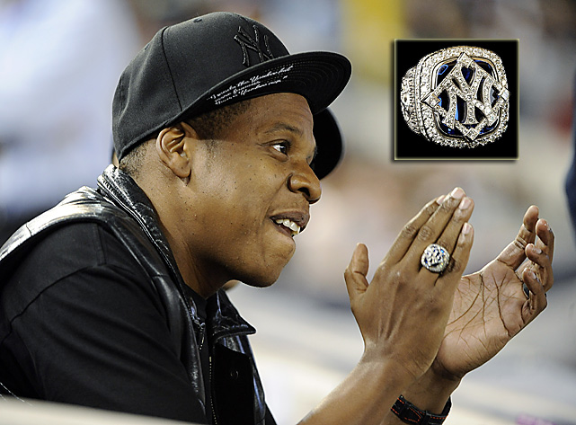 "Jay-Z made the Yankee cap more famous than a Yankee can,"" which is probably why he got a World Series ring."