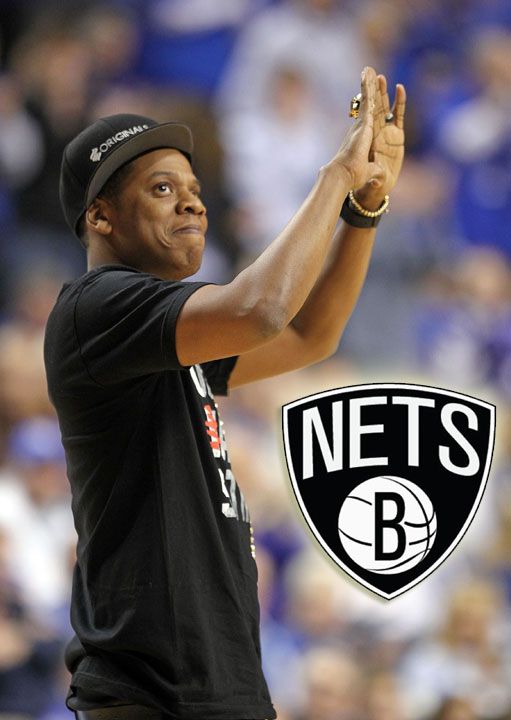"Rapper. Producer. Mogul. Entrepreneur. Pro sports owner. Designer. Beyonce's husband. That celebrity who always seems to be in the thick of the action. Shawn ""Jay-Z"" Carter is all those things (and more), but he's also one of the biggest players in the sports scene, especially in his native New York. The minority owner of the now Brooklyn Nets recently unveiled the team's new logo and color scheme that he designed as they move into their new digs -- less than three miles from where he grew up.   So in honor of the Nets' new look, we decided it was time to dedicate a gallery solely to Jiggaman's many sports appearances."