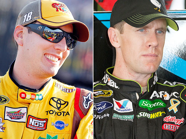 Edwards and Busch have had past confrontations but in 2011, it was a lot of smoke and very little fire. Busch slid into Edwards at Phoenix on Feb. 27, but he later apologized. Edwards insinuated payback was coming but it never materialized. The two drivers are battling for the top spot in the points standing however, so this is far from over.