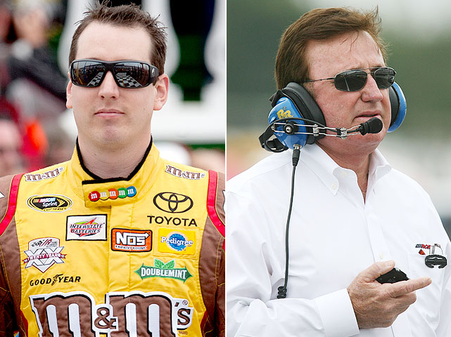 With NASCAR's 'boys, have at it policy' in full effect, driver altercations are quite a common sight. Driver and team owner tussles, though, are a bit more rare. Such was the case, however, after the Truck Series race at Kansas on June 4. According to reports, team owner Richard Childress assaulted Busch after Busch made contact with RCR driver Joey Coulter during the race.