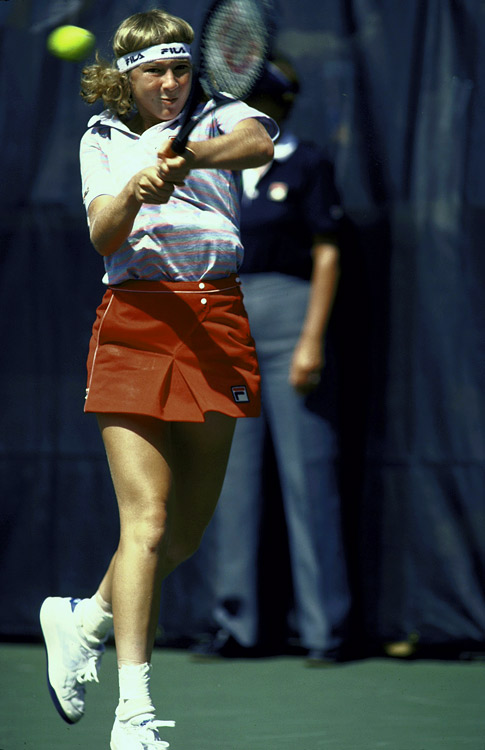 Jaeger turned pro at 14 in 1980 and rose to No. 2 in the world 19 months later, and she was a finalist at the 1982 French Open and 1983 Wimbledon. But by 1985, her career was essentially over, thanks in large part to a shoulder injury. Jaeger, who became a nun in 2006, admitted that she tanked matches and wasn't committed to being No. 1 in the world.