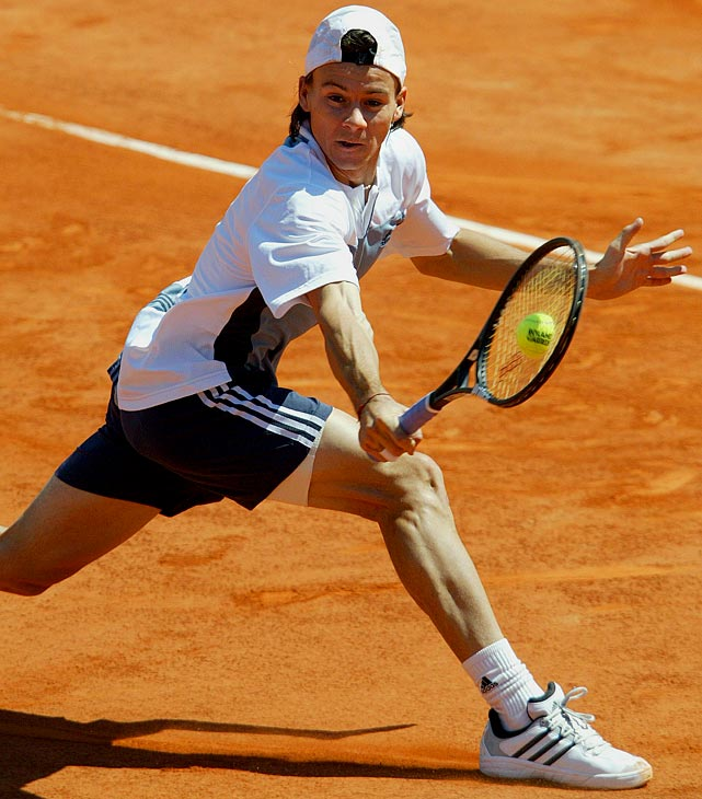 The Argentine, a nine-time tour winner and former No. 3, had as good a chance as any player on this list to win a Grand Slam. He dropped only three games en route to taking a two sets to none lead against the unseeded Gaston Gaudio in the 2004 French Open final, only to collapse amid a bout of cramps and nervousness. Coria even had two match points in the fifth set, but he ended up losing 8-6 in the fifth.