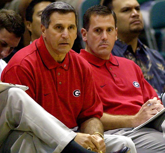 Former Georgia head coach Jim Harrick led the Bulldogs to back-to-back NCAA tournament appearances in 2001 and 2002, and seemed destined for a third consecutive trip as the team entered the SEC tournament with a 19-8 record. Promise soon turned to peril. Harrick and son Jim Jr., an assistant coach, were found guilty of providing players with A's in classes they never attended and paying for various expenses, including long-distance phone calls. Jim Jr. was fired, and the elder Harrick resigned just days later.