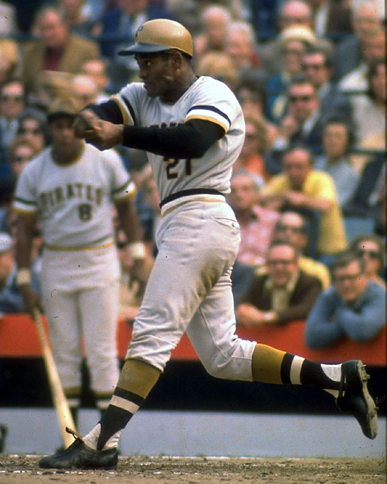 Among his many talents, Clemente in the only player to hit a walk-off, inside-the-park grand slam, accomplishing that on July 25, 1956 in a 9-8 Pittsburgh win against the Chicago Cubs.