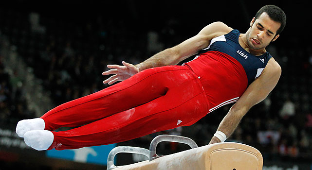 The Cuban-born Miami resident is Horton's biggest competition. Leyva, 19, was second to Horton at the 2010 U.S. Championships, but in their most recent competition placed third to Horton's 11th.