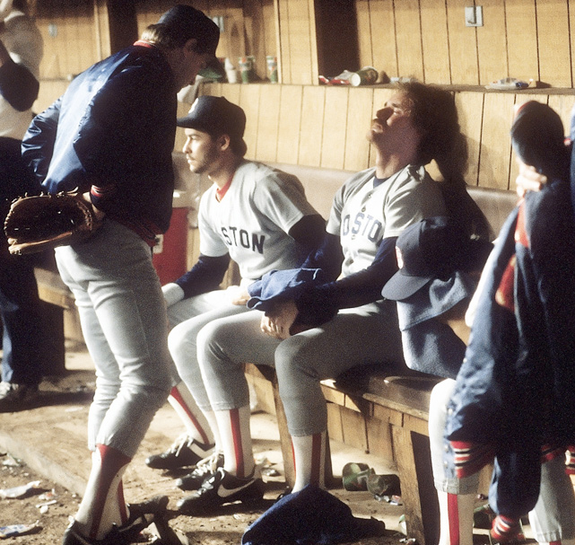 As the Mets celebrated, the impact of the loss is felt by Wade Boggs and the rest of the Red Sox.