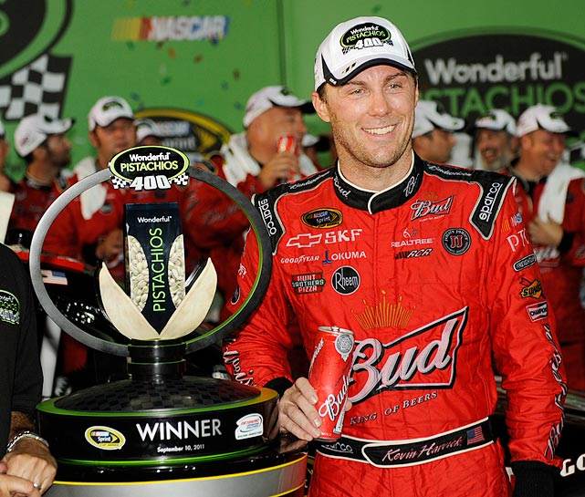 Harvick made his mark early in the season, hitting Victory Lane three times in the first 12 races of the season before hitting a late-season slump. He's hoping his win at the regular-season finale can propel him to his first championship. He finished third in the Chase last year.