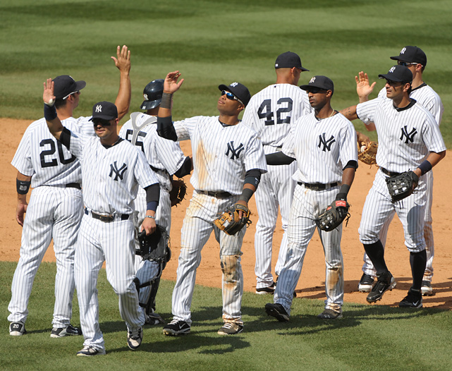 Which team has the best looking uniforms?  1.	New York Yankees 2.	Los Angeles Dodgers 3.	Atlanta Braves 4.	San Diego Padres 5.	St. Louis Cardinals