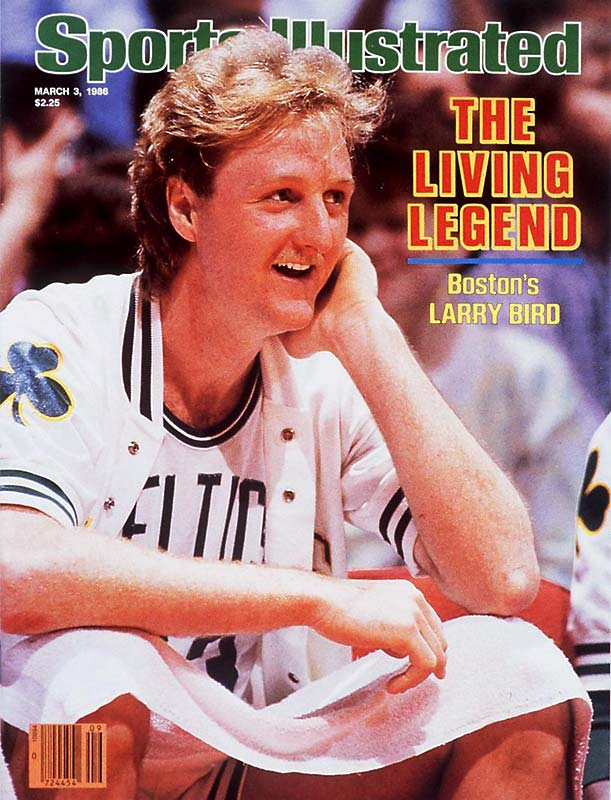 One year after losing to the Lakers in the NBA Finals, the Celtics lost just one game at home all season and piled up 67 regular-season wins on their way to the NBA title. Larry Bird won his third consecutive MVP award as the centerpiece of a star-studded team that included fellow Hall of Famers Kevin McHale, Robert Parish, Bill Walton and Dennis Johnson.