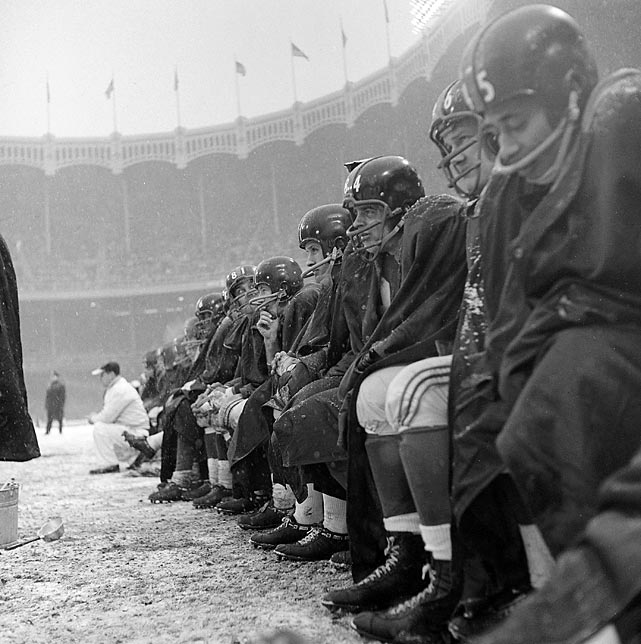 Like cold, weary travelers stranded at a bus stop, the Giants cling to the bench and wait for the chance to get back into action.