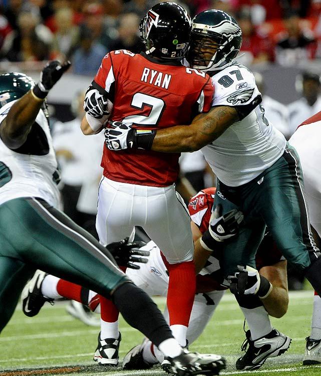 Jenkins' helmet-to-helmet hit on Falcons QB Matt Ryan in Week 2 didn't go unnoticed by the NFL.
