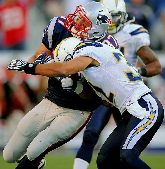 Weddle, the highest paid safety in the league, was fined for a helmet-to-helmet hit on New England Patriots tight end Rob Gronkowski in Week 2.